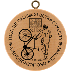 No. 40072 - Tour De Calisia – XI Setka Cyklisty